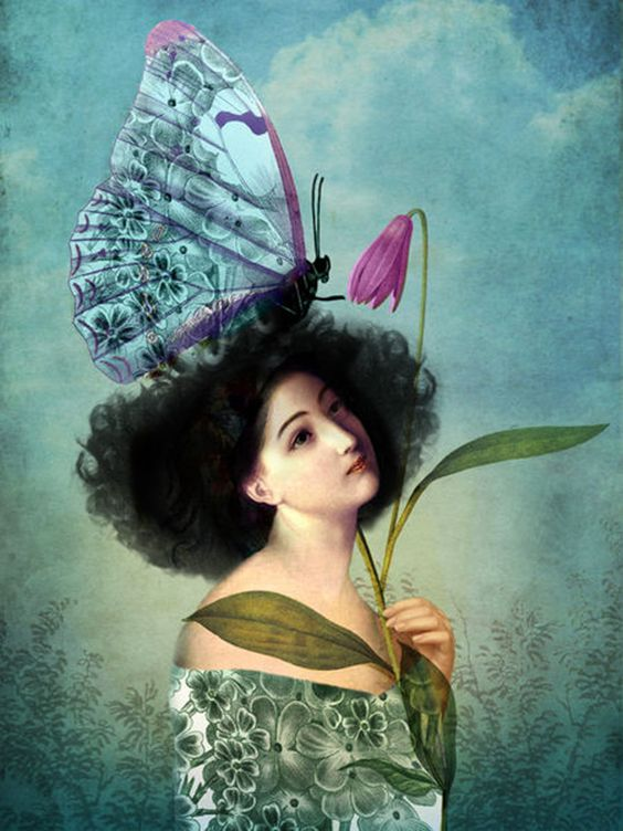 """In the Butterfly Garden"" by Catrin Welz-Stein"