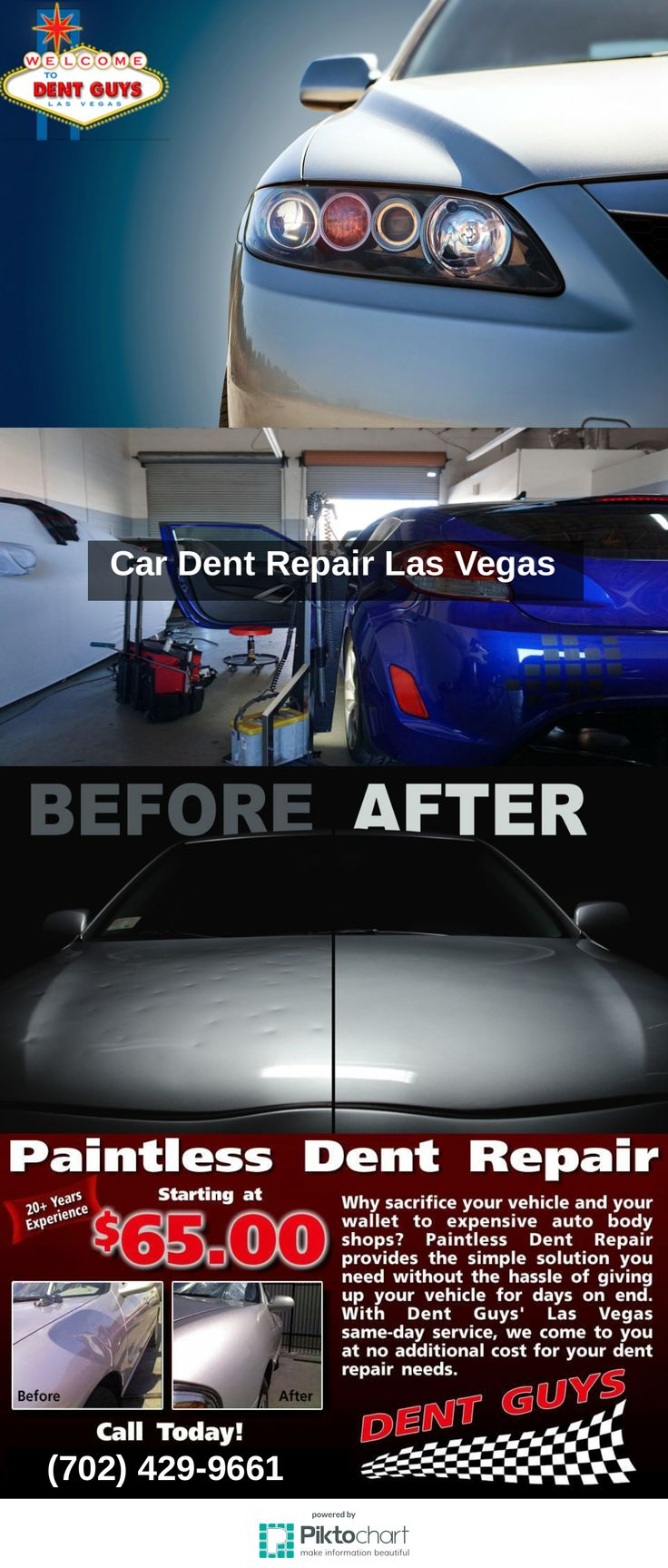 Colour carsmetic - Dent Guys Las Vegas Provides Paintless Dent Repair Bumper Repairs And Spray On Bed