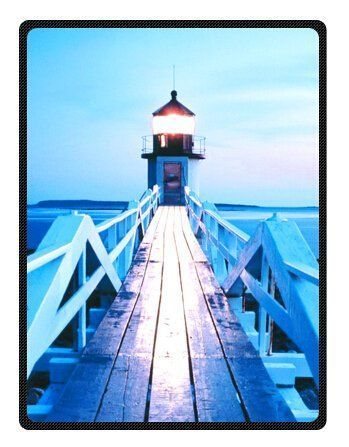 Lighthouses are enchanting, magical and nostalgic which is why people like getting lighthouse memorabilia as gifts. Furthermore, there are so many types of gifts for lighthouse lovers from lighthouse bedding, lighthouse throw blankets, lighthouse kitchenware and other Lighthouse home décor accents. Lighthouse and Wave Beautiful Scene Custom Blanket 58
