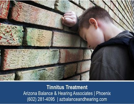http://www.azbalanceandhearing.com/caring-for-hearing/specialized-tests-for-hearing/ – Tinnitus can be especially debilitating for children who often don't understand that the constant ringing and buzzing they hear isn't 'normal' because it has been there for most of their lives. If you notice a child fussing with their ears or complaining of noise in a silent room, have them evaluated by a Phoenix tinnitus specialist such as the experts at Arizona Balance & Hearing Associates.