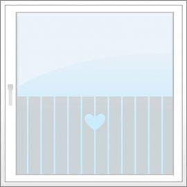 Wilt u een folie op maat aanpassen - stuur de afmeting van uw raam naar ons (bij stap 2 van uw order vul in bij eventuele opmerkingen). Wij passen het motief aan, proporcional aan uw raam.