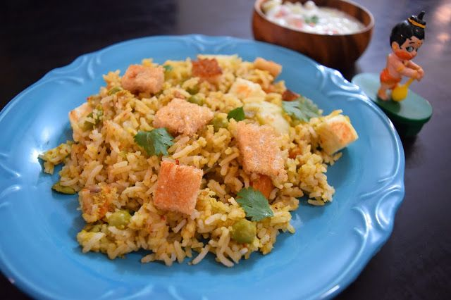 Healthy & Tasty Vegetarian Recipes: Fragrant Karnataka Pulao