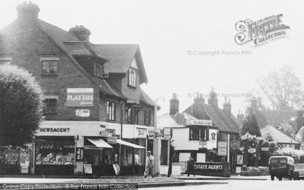 Merstham, School Hill Businesses c.1965,  Passed this every school day to and from the station from Francis Frith