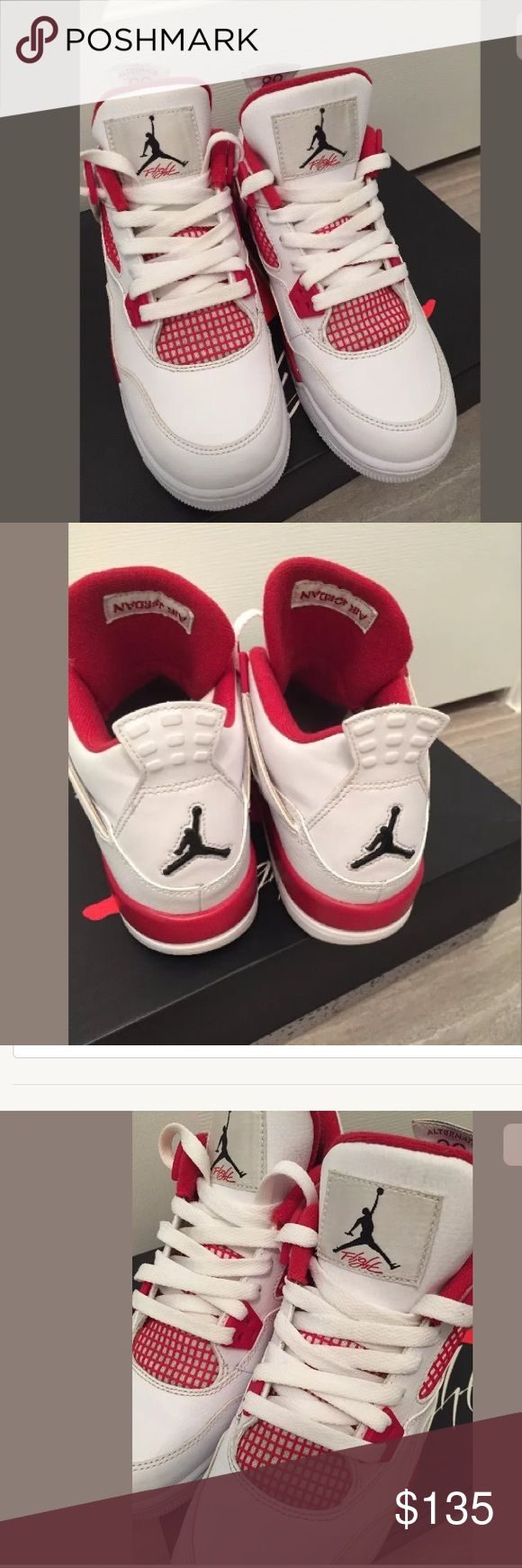 Air Jordan alternate 89 youth 5 Red white air Jordan RETRO alternate 89. Very very good condition. Barely worn and stored in box. Clean ready to ship! Size 5 y air jordan Shoes Sneakers