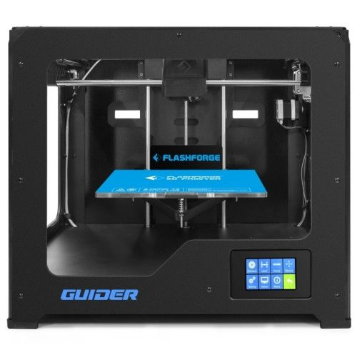 Guder is full metal 3d printer provides excellent printing experience with improved building plate and 10 mm Z axis lead screw, you will have great 3d printing experience