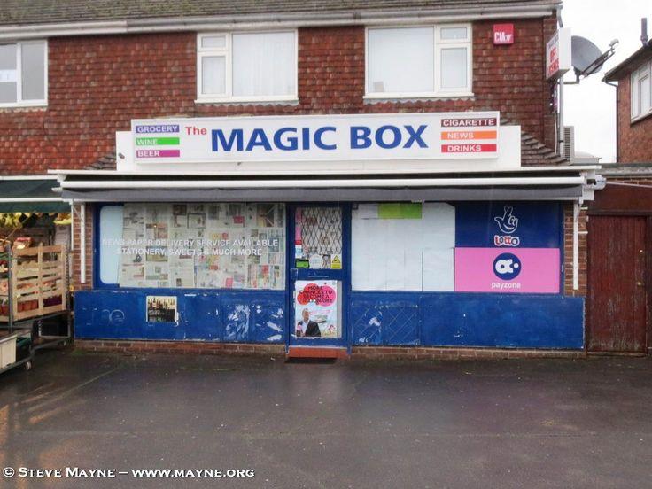 RIP The Magic Box Clanfield