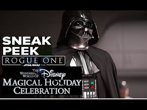 The Star Wars Underworld: New 'Rogue One' Preview From Disney Holiday Celebration TV Special
