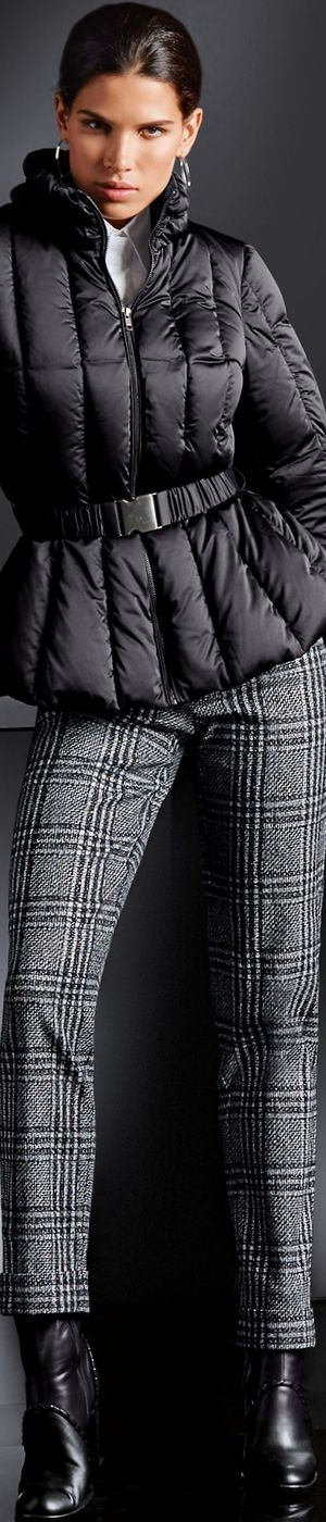 Madeleine Checkered Trousers