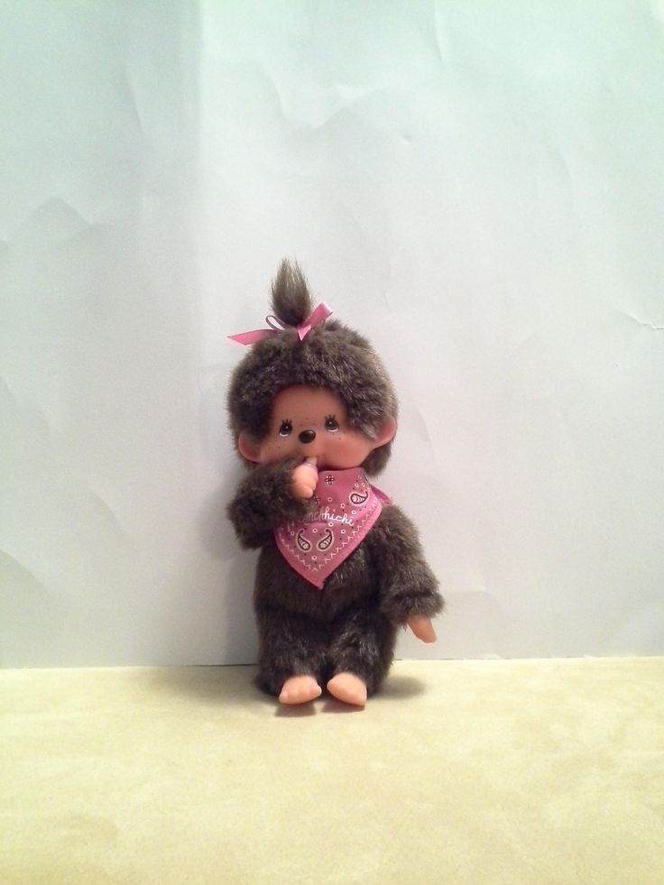 Excited to share the latest addition to my etsy shop: Monchhichi Vintage 1974 Little Monkey STUFFED Toy Brown, Collectible Monchhichi http://etsy.me/2Fg7hct