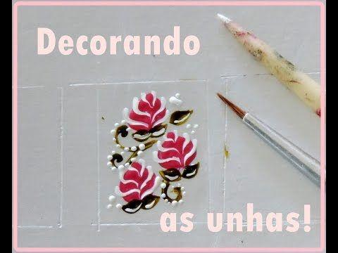#5 Florzinha Simples .. quer aprender? vem ver! Por Vanessa Carneiro - YouTube
