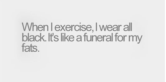Funny Fitness Sayings