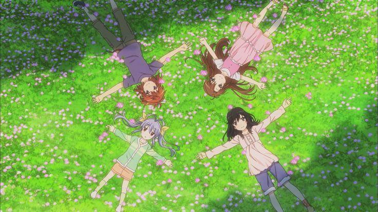 Renge, Natsumi, Komari, and Hotaru.