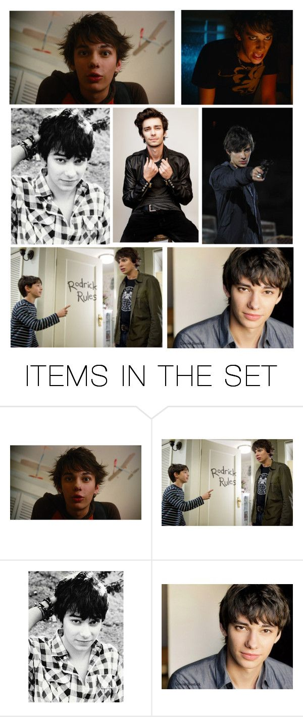 """""""Devon Bostick"""" by kaitlyn-ashby101 ❤ liked on Polyvore featuring art and Notmyrodrick"""