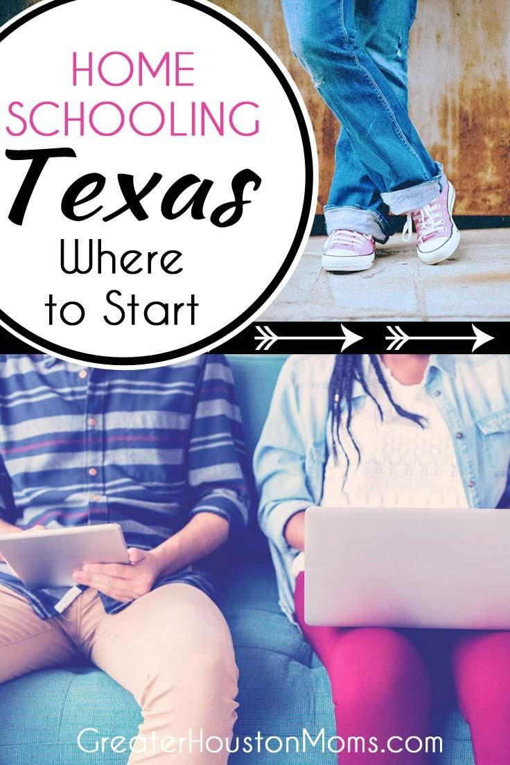 Homeschooling in Texas Where to Start Homeschooling in