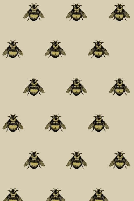 Napoleon Bee fabric by Timorous Beasties
