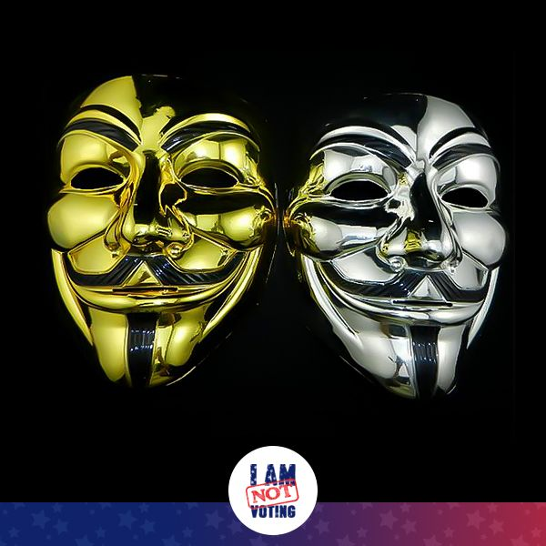 Feeling bold and different? Check out our Chrome Guy Fawkes Masks. Perfect for November 5th, Halloween, Guy Fawkes Night, Parties, and Protests!