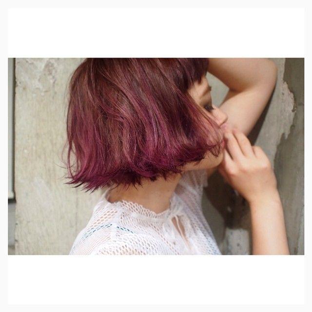 「ふわふわッ、ラブリー。照れ屋な女の子を包むピンクヘアカラー集」に含まれるinstagramの画像|MERY [メリー]
