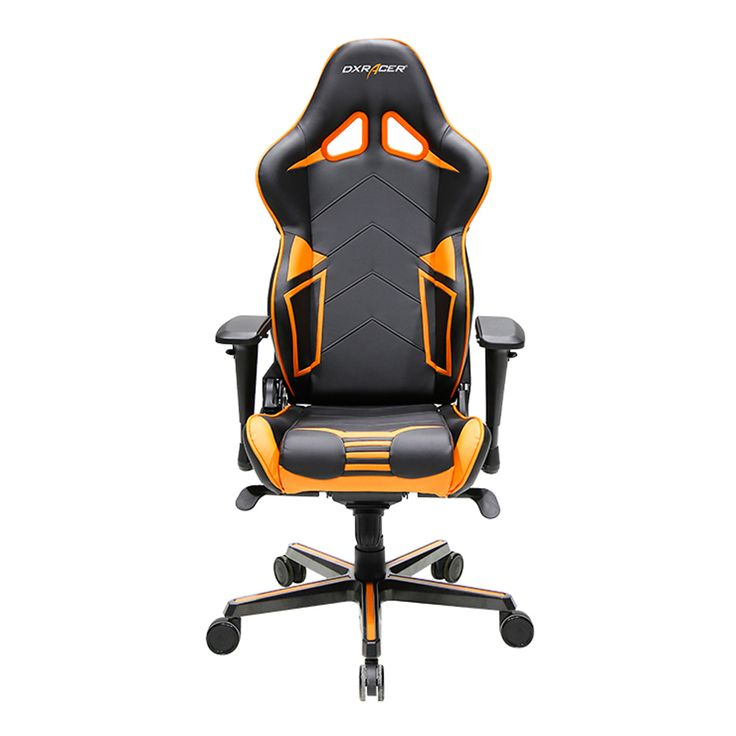 dxracer ohrv131no highback gaming chair carbon look