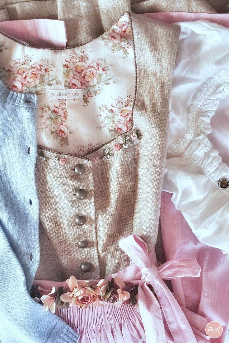 ♥ Dirndl Karin Kolb – Hochzeitsdirndl in Maßanfertigung – Dirndl Karin Kolb – besondere Hochzeitsdirndl und Blumengürtel