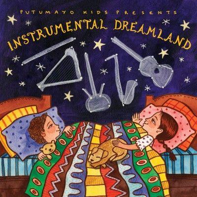 Putumayo Kids Instrumental Dreamland CD με Νανουρίσματα