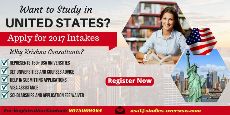 Apply for Spring 2017 Intake for #USA #Universities.