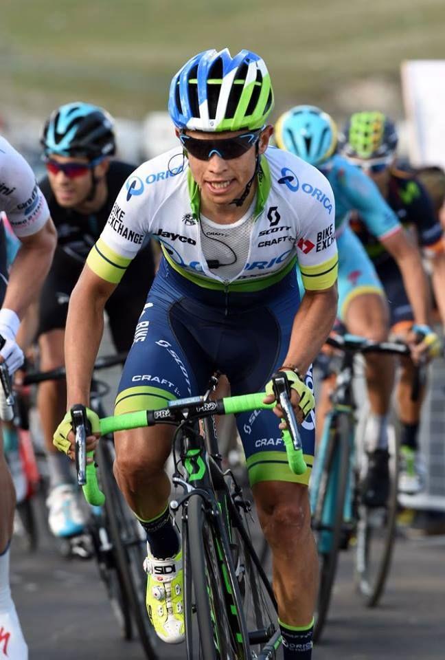 Esteban Chaves stage 6 Giro dItalia