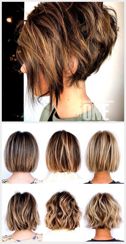 9 Trendy Messy Bob Frisuren, weibliche Frisur für kurze Haare