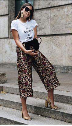 Fall street style / Fashion Week street style#fashion #womensfashion #streetst…