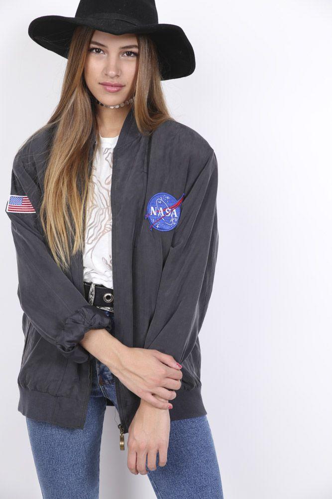 New arrivals : NASA Gray Bomber