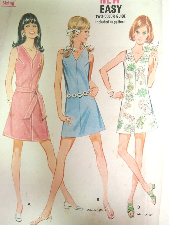 Vintage 1960s McCall's Misses and Junior by VintageTwistsPattern, $10.00