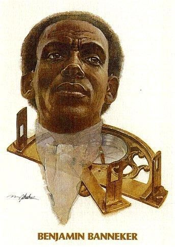 "The Black Man Who Designed Washington DC. In the Stevie Wonder song ""Black Man,"" the Motown marvel sings of Benjamin Banneker: ""first clock to be made in America was created by a black man."" More info @: www.facebook.com/..."