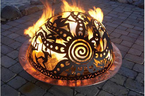 Fire accents | The Gardener's Eden - The Art of Fire: Creating a Glowing Garden ...
