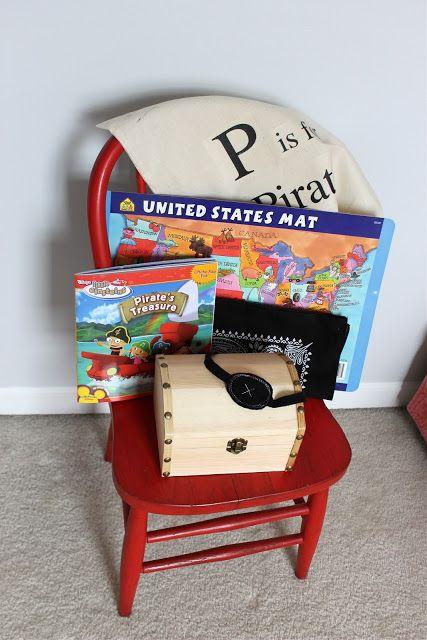 DIY pirate kit | kojodesigns. CUTE idea for boy birthday gifts!