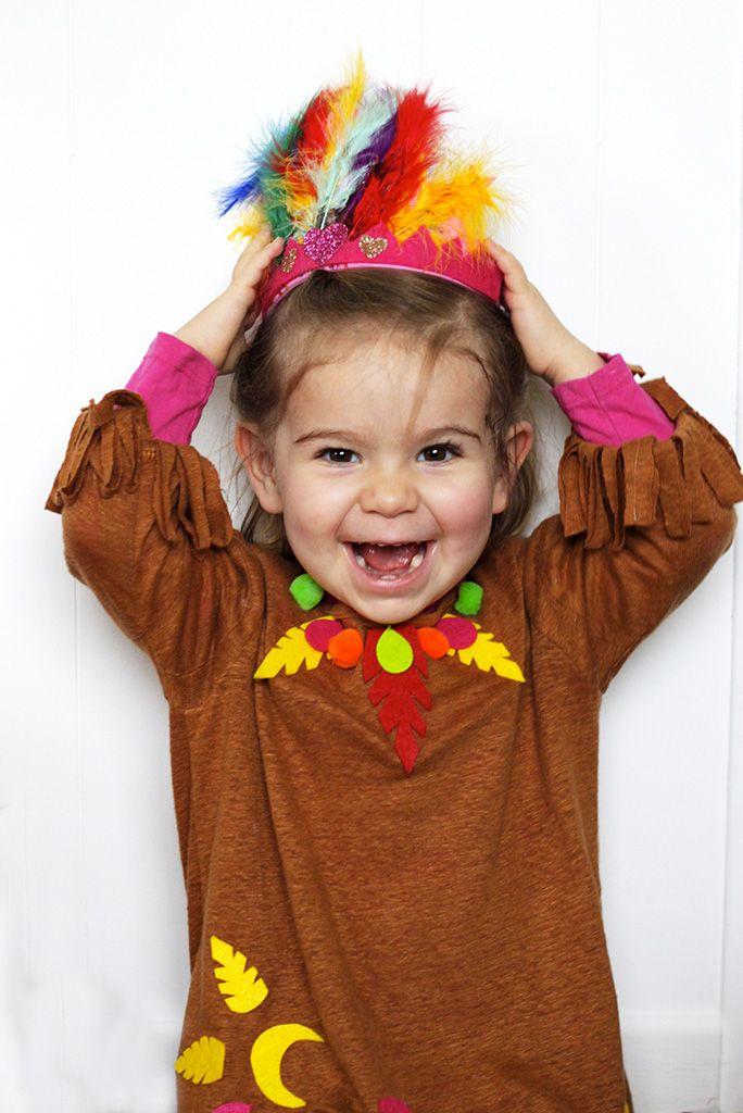 carnaval deguisement indienne enfant coiffe plumes deguisement pinterest blog et bricolage. Black Bedroom Furniture Sets. Home Design Ideas