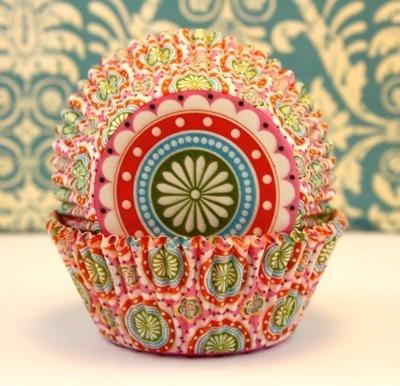 reminds me of one Anne Slovisky: Baking Cupcake, Beauty Cupcake, Cupcake Wrappers, Cupcake Liners, Cupcake Holders, Cupcake Party, Cupcake Art, Bohemian Print, Pretty Cupcake
