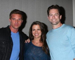 Dylan, Chelsea, and Adam. Good storyline with great actors. Y&R