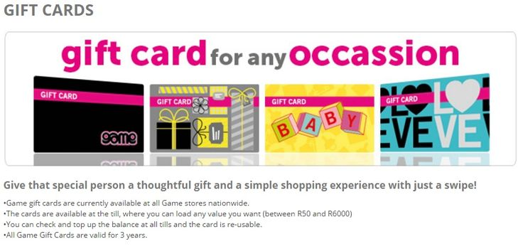 Anyone ever used a Game gift card on their website before? if not use today and enjoy your gaming.