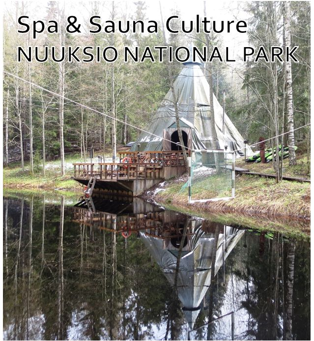 Spa & Sauna Experiences at Nuuksio National Park in Finland. See more photos at travel blog www.kiviluoma52.me