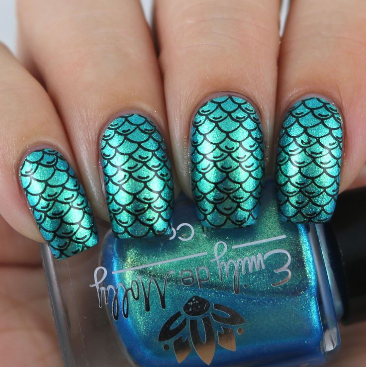 The Digit-al Dozen Does Mythical Creatures - Day Four by Olivia Jade Nails