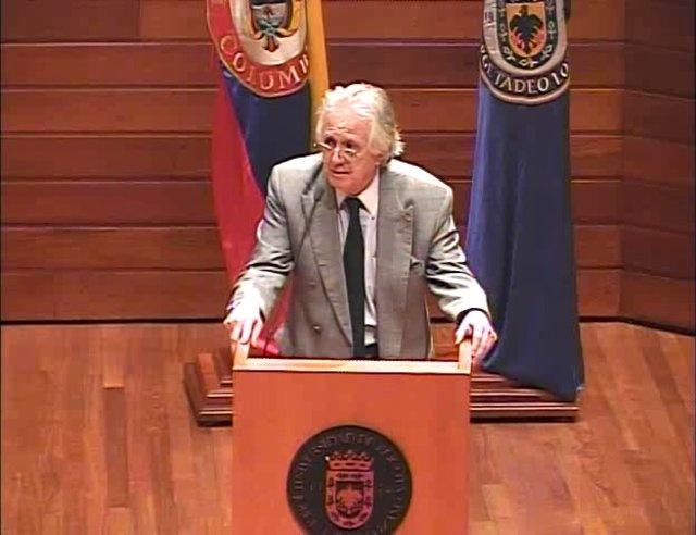 """Conferencia completa """"Comunicación simbólica y el ciberespacio"""" de Michel Maffesoli en la Tadeo"""