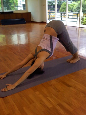 92 best week 6 entriesdownward dog pose images on pinterest