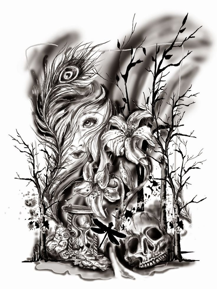 VeggieMuse Art and Design Blog: Custom Half Sleeve Black ...