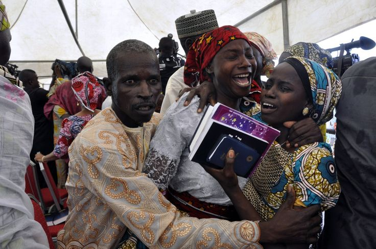 "After securing the release of 21 of the kidnapped ""Chibok girls"" last week, Nigeria's government brought them to the nation's capital, Abuja, for a major photo opportunity: a reunion with their parents."