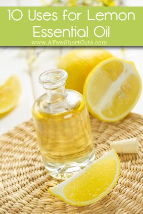 10 uses for lemon essential oil #health