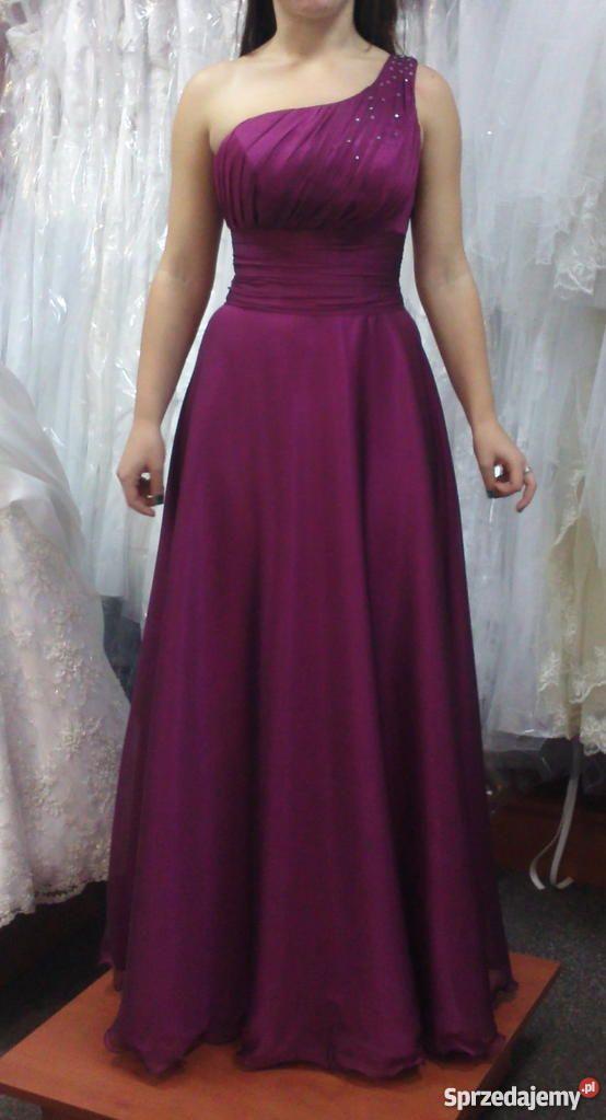 długa suknia