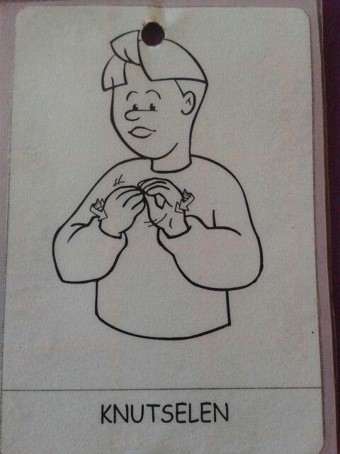 gebaren knutselen