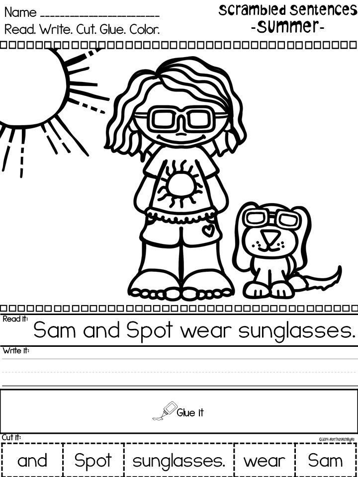 8 best Sentences images on Pinterest   Teaching ideas, Literacy ...