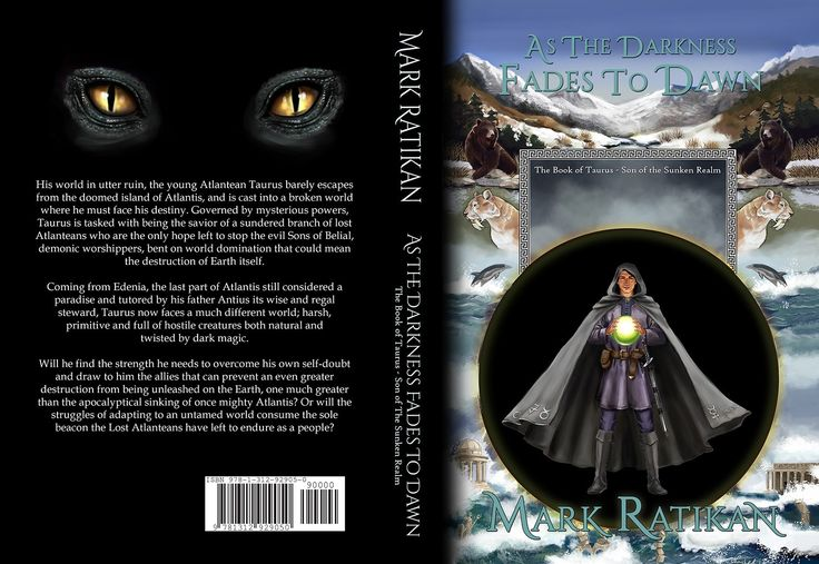 Layout work for novel Darkness fades to Dawn