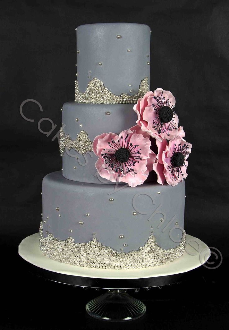 gray wedding cake 74 best cakes shades of grey images on bodas 14903