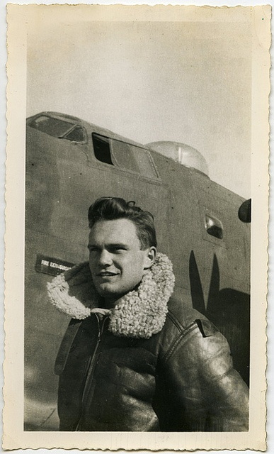 Handsome pilot.